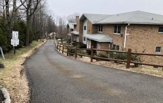 road through the neighborhood