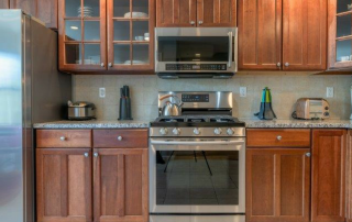kitchen with stainless steel