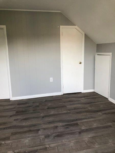 bedroom with modern floors